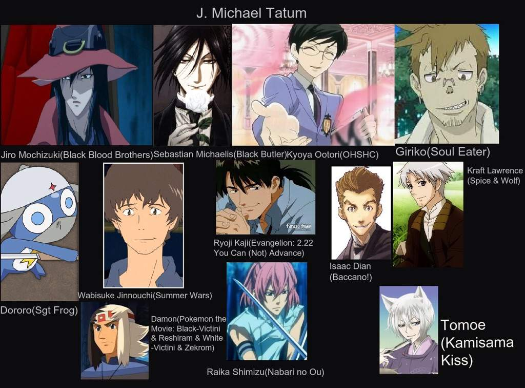 J. Michael Tatum Character List Back > Pix For ...