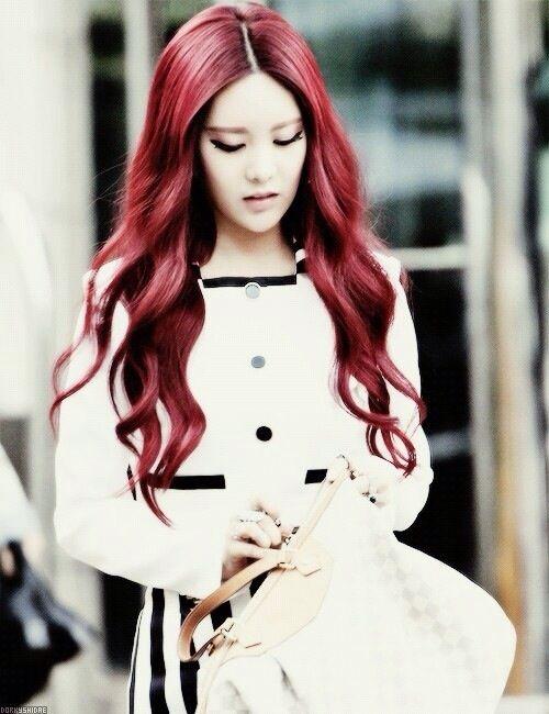 50 shades of kpop hair red kpop amino