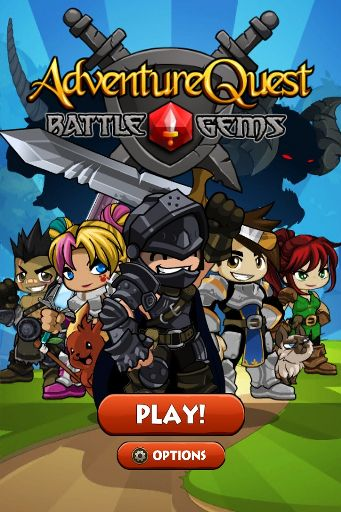 adventure quest battle gems