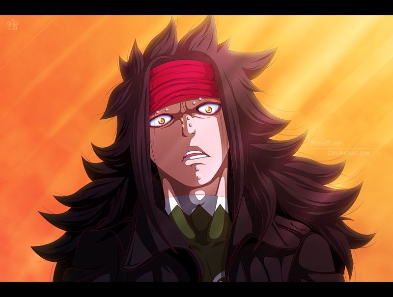 Image result for Gajeel Redfox Dragon Slayers