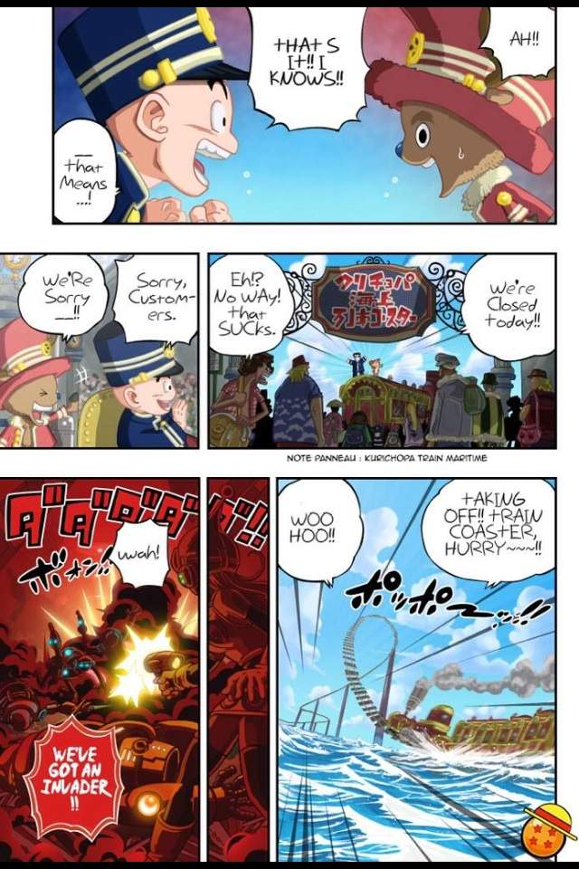 Dragon ball one piece crossover anime amino - Dragon ball one piece ...