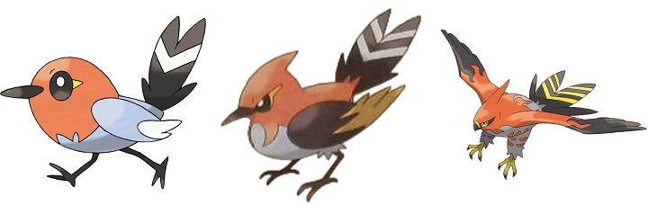 Ash 39 s pokemon team prediction anime amino - Ash fletchinder evolves into talonflame ...