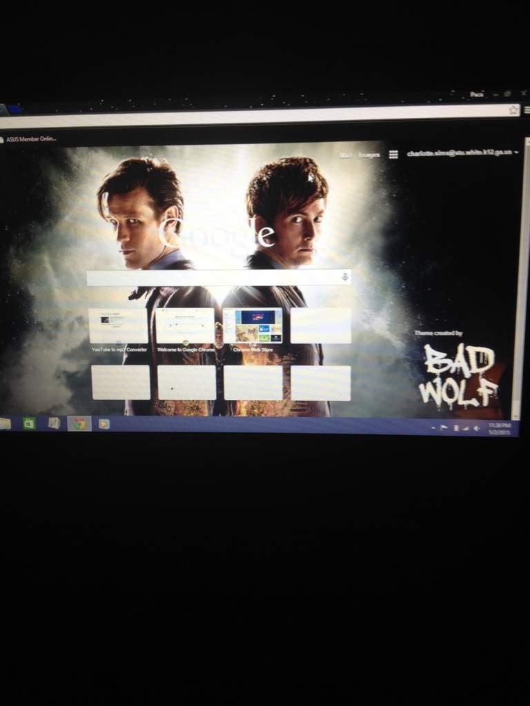 Google themes doctor who - Google Themes Doctor Who 15