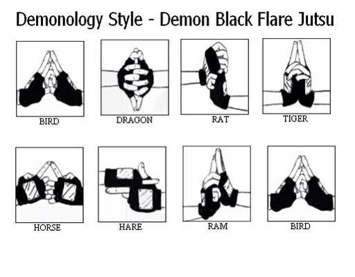 Naruto Jutsu Hand Signs Wiki Anime Amino