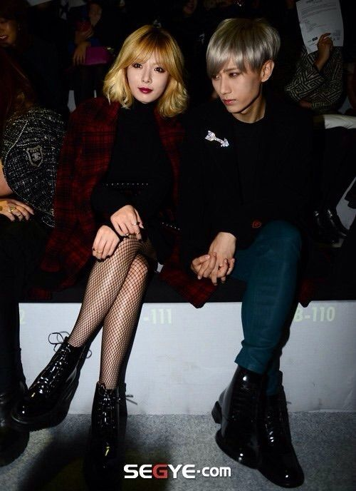 hyunseung and hyuna confirmed dating Trouble maker (hangul: 트러블 메이커) is a duo formed by cube entertainment in  2011, composed of kim hyuna and jang hyun-seung  in october 2013, cube  entertainment confirmed trouble maker's upcoming  year, date, song.