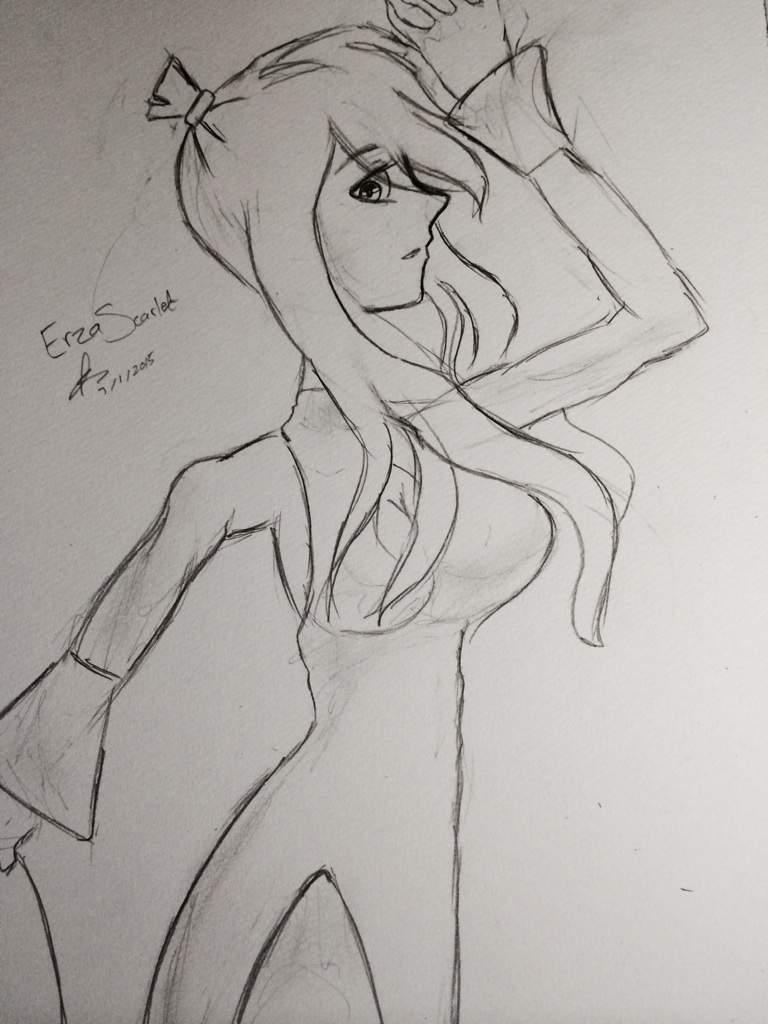 Erza Scarlet Kimono Dress Anime Amino