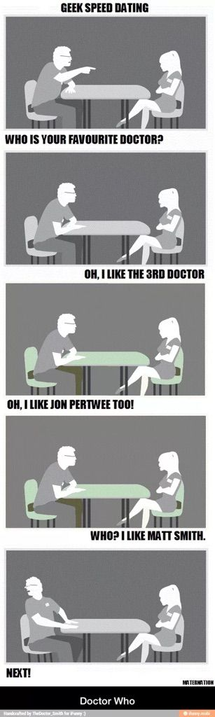 doctor who speed dating meme star