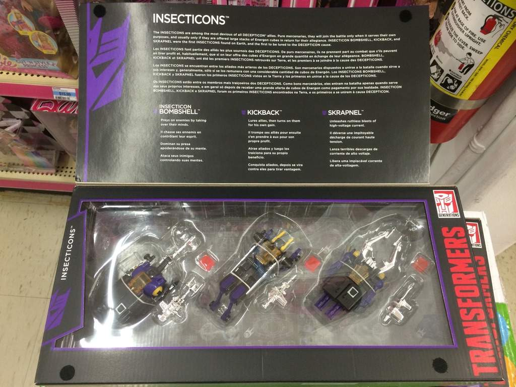 Transformers g1 Insecticons Transformers Insecticons g1