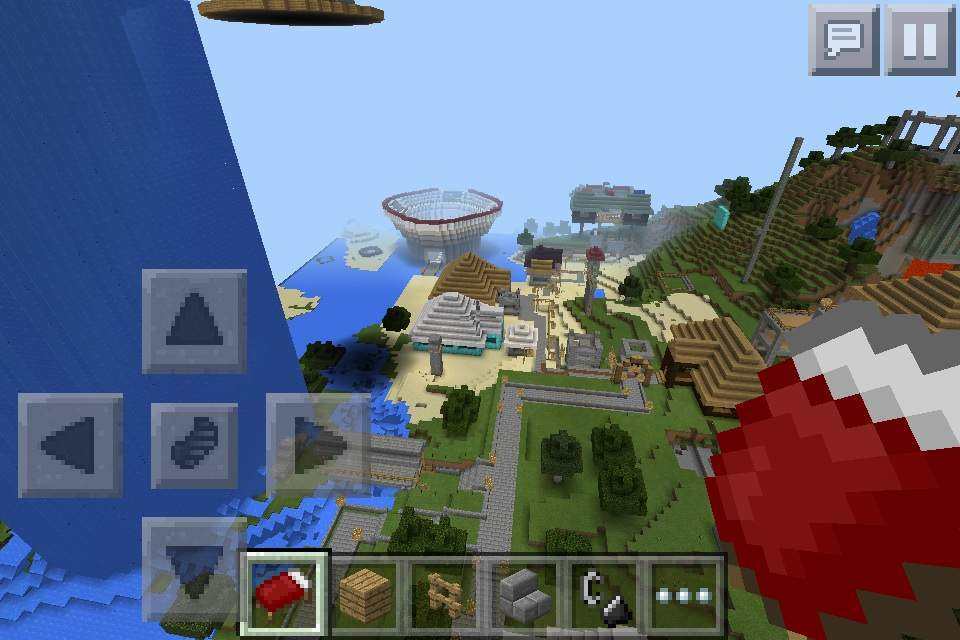 how to join worlds on minecraft pe