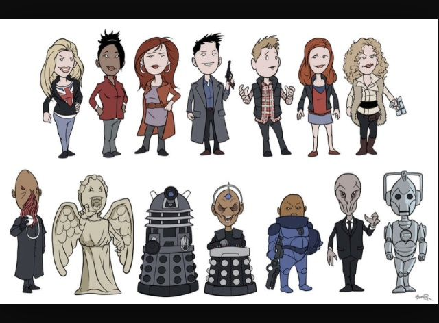 how to draw stuff from doctor who