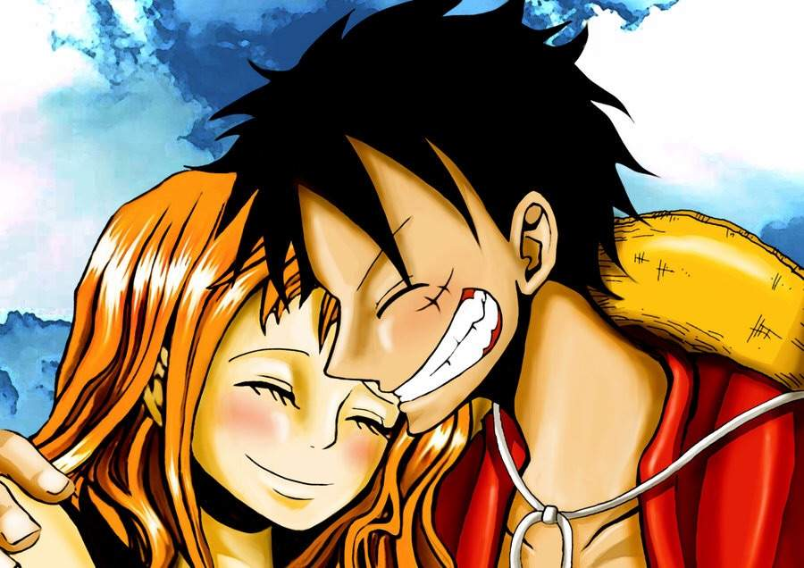 One piece pairing luffy x anime amino - One piece luffy x hancock ...