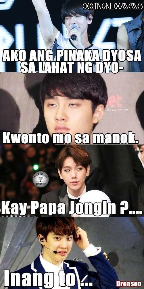 Exo Tagalog Memes