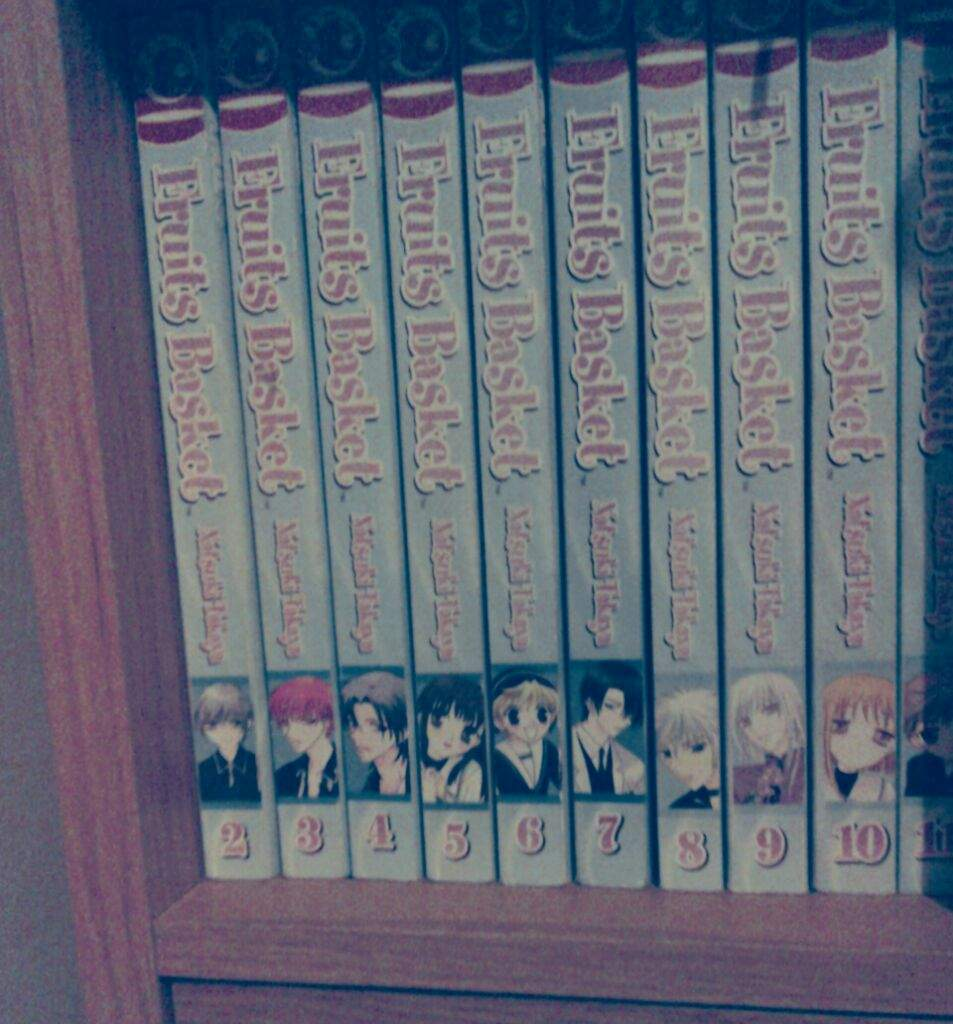 Sisters Untouched Fruits Basket Manga Collection
