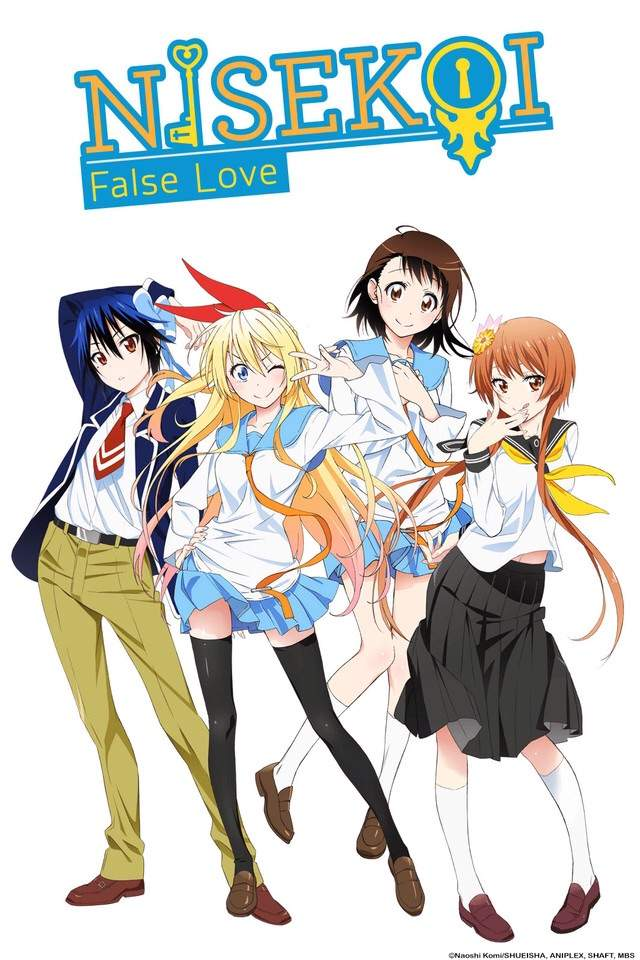 Anime Characters Everyone Knows : Nisekoi anime amino