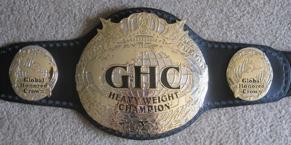 Resultado de imagen para ghc heavyweight championship