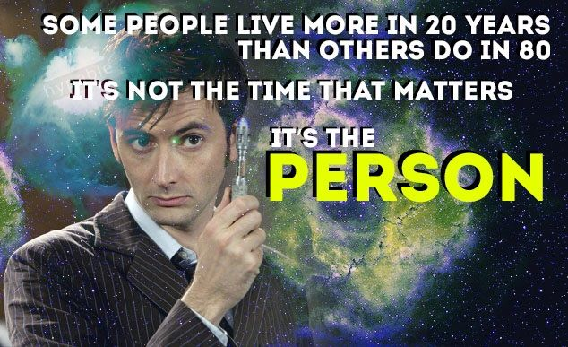 Tenth Doctor - Motivational Quote: Day 3