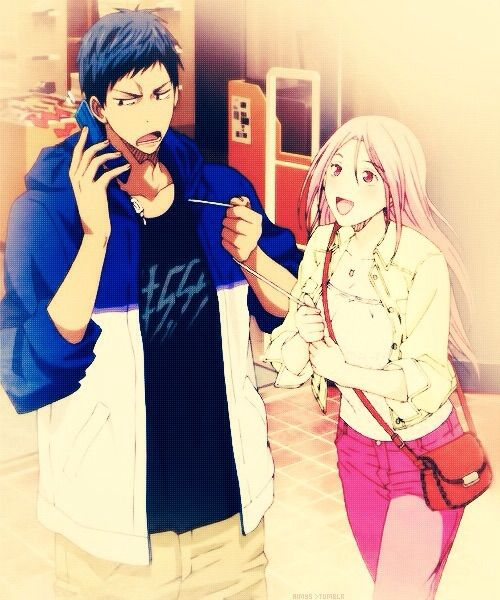 aomine and momoi relationship problems