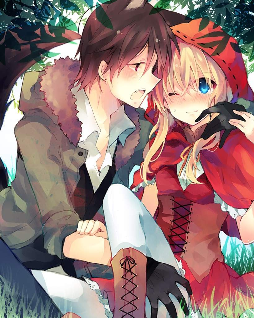 Little red riding hood x wolf anime pictures to pin on pinterest little red x wolf anime amino 819x1024 anime girl as red riding hood sciox Choice Image