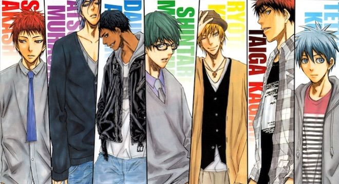 Anime Characters Everyone Knows : ᗰy toᑭ teᑎ knb ᴄʜᴀʀᴀᴄᴛᴇʀs anime amino