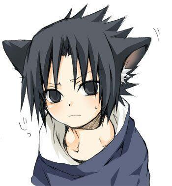 Anime Guys X Cats