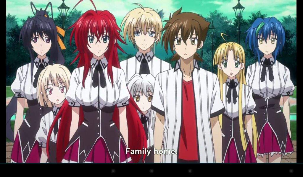 Anime Characters Born May 5 : High school dxd born episode screenshots anime amino