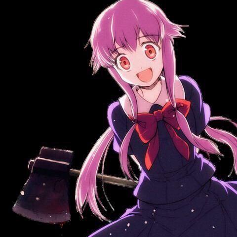 anime psycho girl