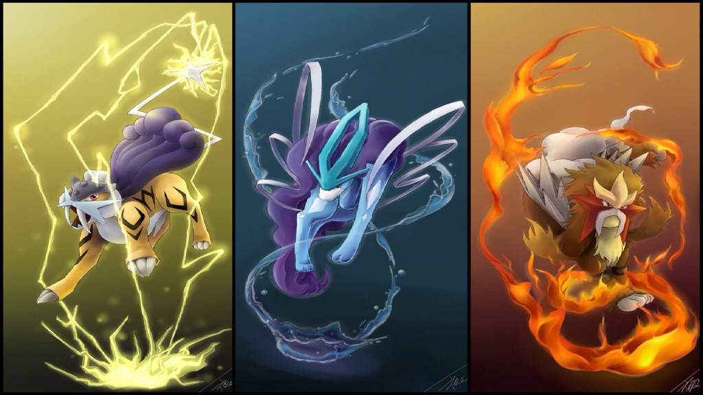 Image result for entei raikou suicune which is best