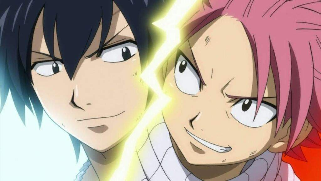 Natsu Dragneel and Gray Fullbuster | Anime Amino