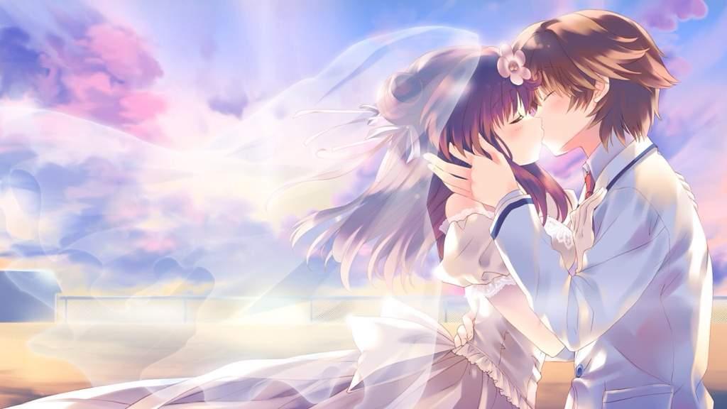 Resultado de imagem para anime married couple