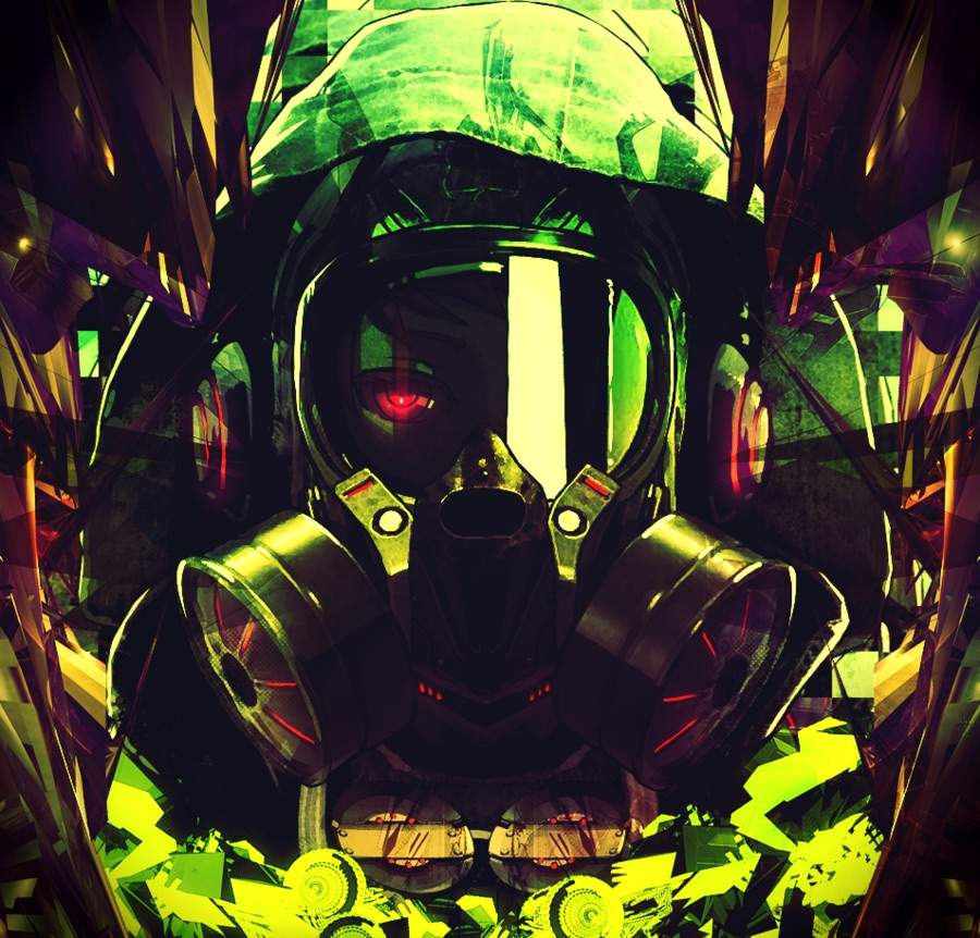 Anime Gas Mask Wallpapers | Collection 11+ Wallpapers