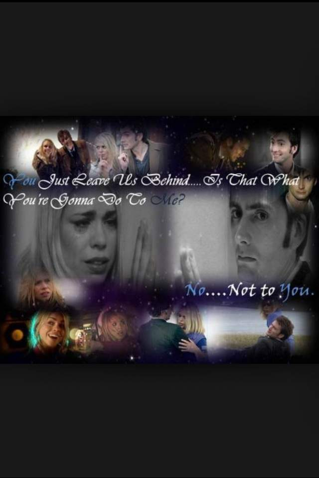 Tenth Doctor Feels Tenth Doctor And Rose Tyler