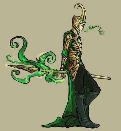 Loki ' s leather pants problem- villainous Friday | Comics Amino