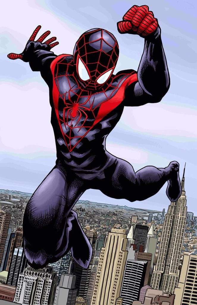 spiderman coloring pages miles morales - photo#31