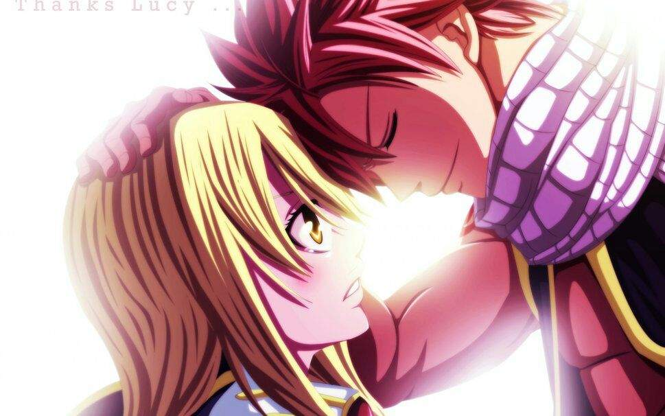 and in anime the lucy natsu get Do together ever
