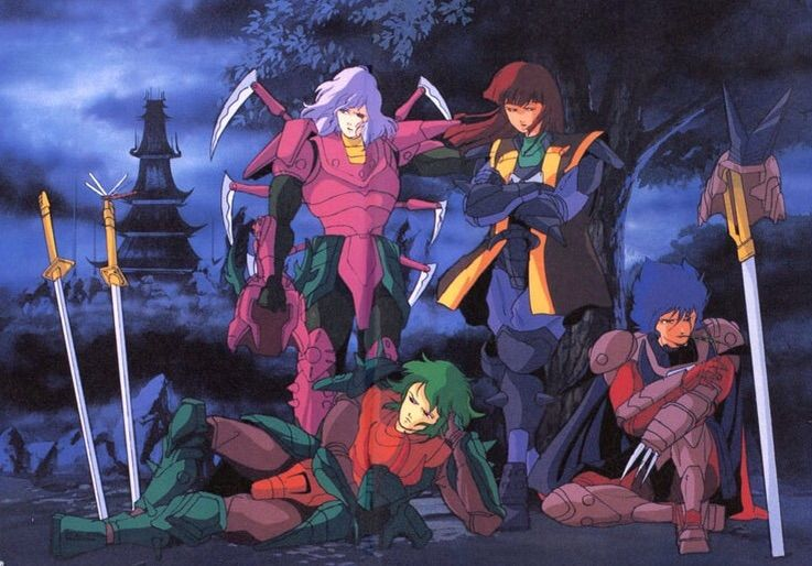 The armors of ronin warriors anime amino - Ronin warriors warlords ...
