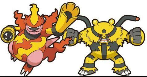Magmortar VS Electivire | Pokémon Amino