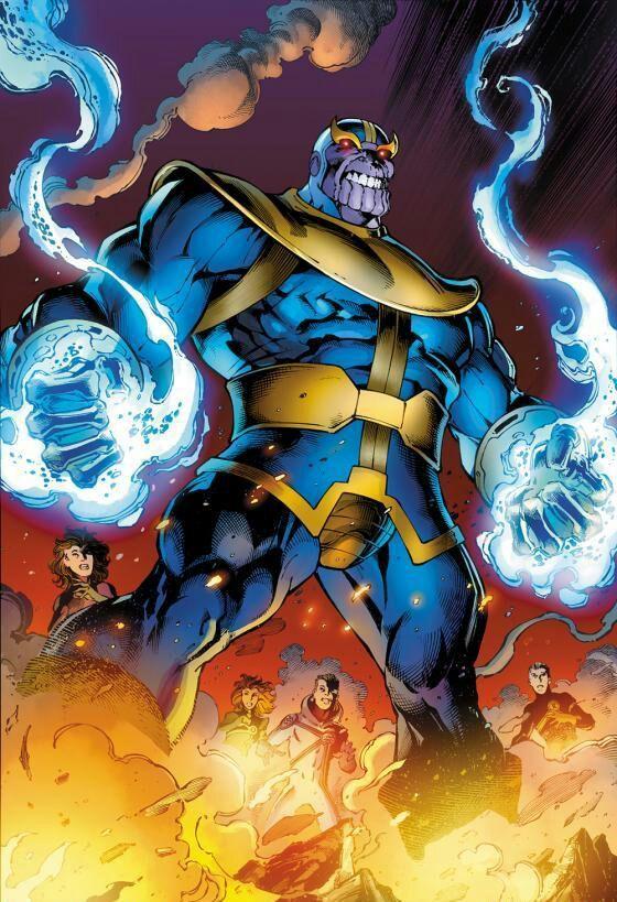 Galactus Vs. Thanos | Comics Amino  Galactus Vs. Th...