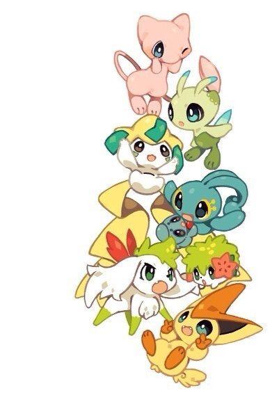 Day 7 most adorable pixie legends pok mon amino - Carte pokemon jirachi ...