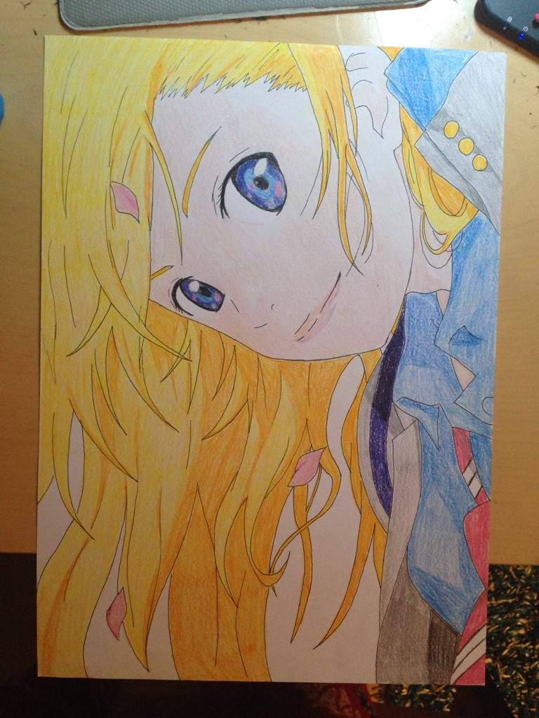drawing kaori  ud83c udf38 from your lie in april