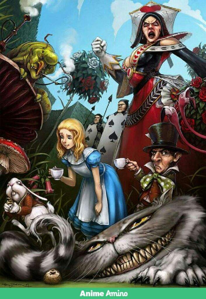 Deeper, Hidden Meanings and Themes in Alice in Wonderland