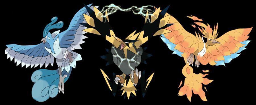 Mega Legendary Birds Top 10 Pokemon that ne...