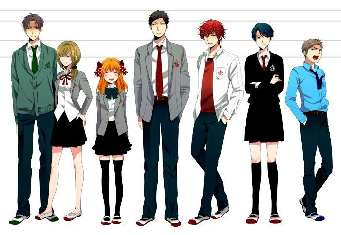 Anime Characters 169 Cm : Anime character i m most like amino