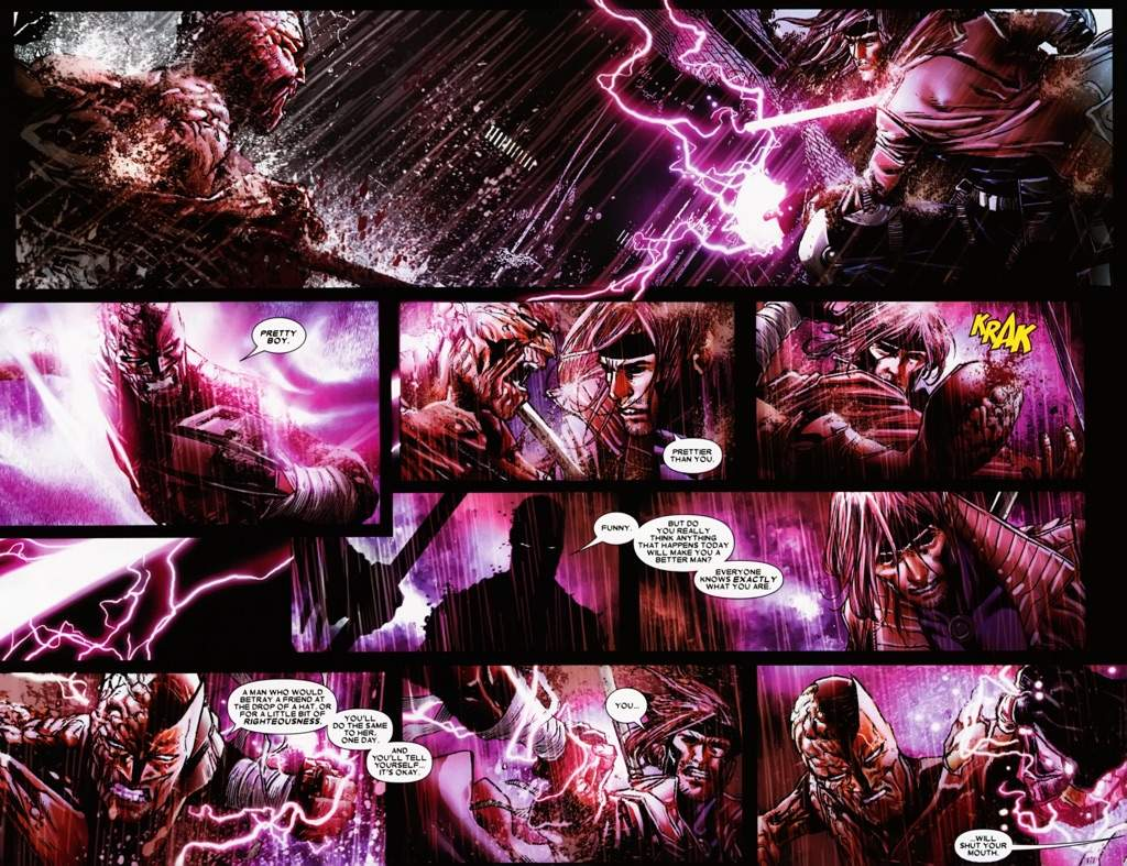 gambit vs comics amino