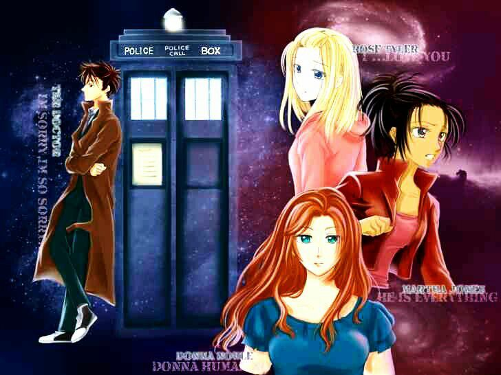 10th Doctor Anime Version Doctor Who Amino