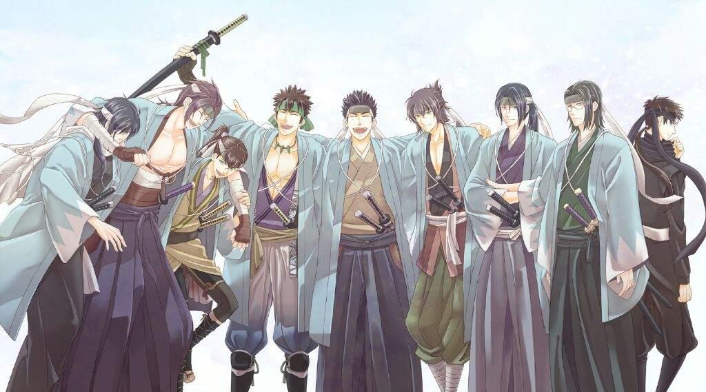 The Shinsengumi | Anim...