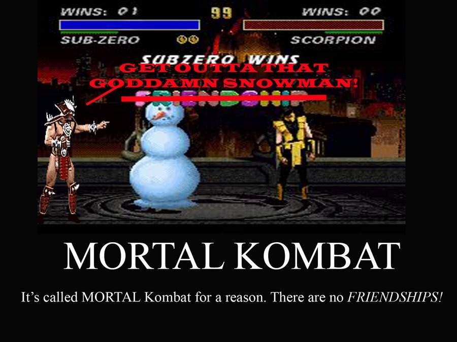 Random Mortal Kombat Funnies