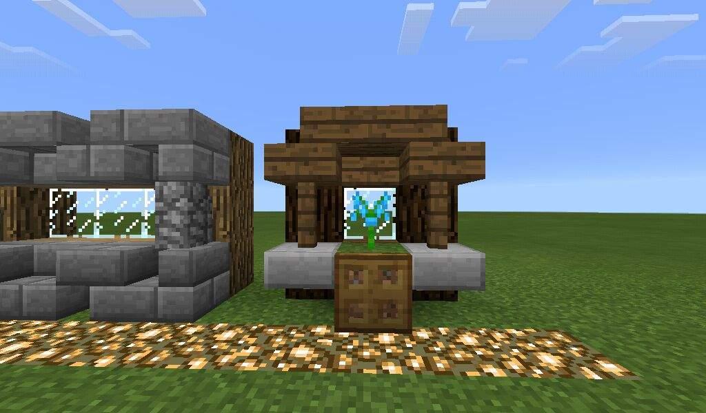 Window designs minecraft amino for Window design minecraft