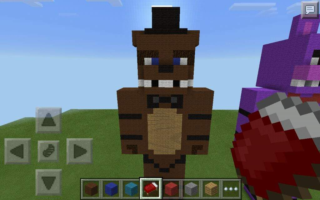how to build fnaf 4 in minecraft ps4
