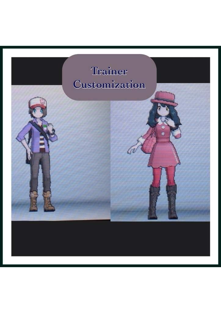 trainer customization pok233mon amino