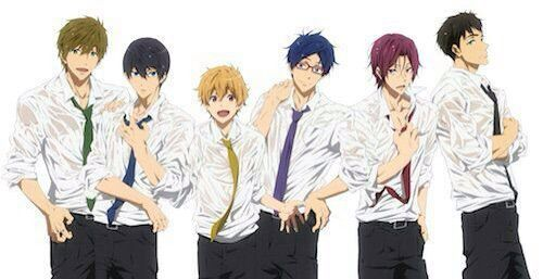 Pixel Room Free Iwatobi Swim Club